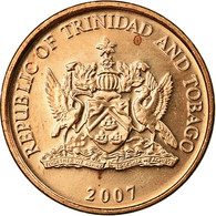Monnaie, TRINIDAD & TOBAGO, Cent, 2007, Franklin Mint, SUP, Bronze, KM:29 - Trinidad & Tobago