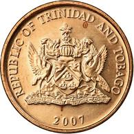 Monnaie, TRINIDAD & TOBAGO, Cent, 2007, Franklin Mint, SUP, Bronze, KM:29 - Trinité & Tobago