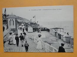 VILLERS Sur MER -- Etablissement De Bains - ANIMATION Sur La Digue - Villers Sur Mer