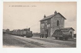 LES SORINIERES - LA GARE - TRAIN - 44 - France