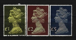 GROSSBRITANNIEN - Mi-Nr. 732 - 734 Freimarken: Königin Elizabeth II Gestempelt - 1952-.... (Elisabeth II.)