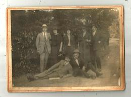 Photographie , 185 X 135 Mm , VERSAILLES , 1922 , Femmes ,  Hommes , 2 Scans , Frais Fr 3.15 E - Luoghi