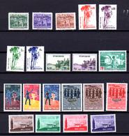 1956-65   Vietnam Du Sud , Séries Neuves Entre 57  Et 272**, Cote 22 € - Viêt-Nam
