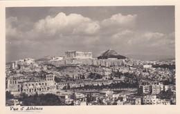 CARTOLINA - POSTCARD - GRECIA - VUE D' ATHèNES - Grecia