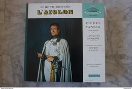 EDMOND-ROSTAND-L-AIGLON-PIERRE-VANECK-DOUBLE-LP-DE-19?? VALEUR + - Collectors
