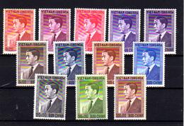 1956   Vietnam Du Sud ,Président Ngo Din Diem, 41 / 52**( Trace Coup De Soleil Au Dos), Cote 65 €, - Viêt-Nam
