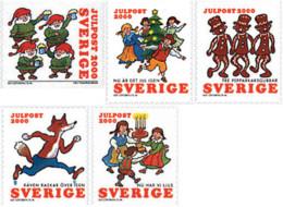 Ref. 71006 * NEW *  - SWEDEN . 2000. CHRISTMAS SONGS. CANCIONES DE NAVIDAD - Sweden