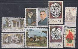 Afrique Du Sud N° 471 / 79 X O :  Les 9 Valeurs Oblitérées Ou Trace De Charnière Sinon TB - Afrique Du Sud (1961-...)