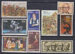 Afrique Du Sud N° 486 / 94 X  :  Les 9 Valeurs Oblitérées Sinon TB - Afrique Du Sud (1961-...)