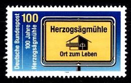 Allemagne 1994  Mi.:nr.1740 100.Jahre Herzogsägmühle  Neuf Sans Charniere / Mnh / Postfris - Neufs