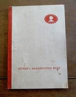 Oud Boek  OETKER's  NAGERECHTEN BOEK - Recettes (cuisine)