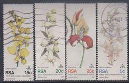 Afrique Du Sud N° 495 / 98 X  : 10ème Conférence Mondiale Sur Les Orchidées, Les 4 Valeurs Oblitérées Sinon TB - Afrique Du Sud (1961-...)
