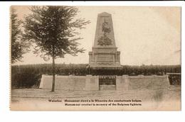 CPA - Carte Postale Belgique - Waterloo - Monument à La Mémoire Des Combattants Belges-VM2158 - Waterloo