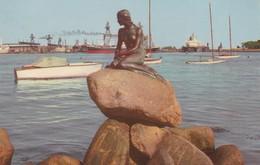 CARTOLINA - POSTCARD - DANIMARCA - COPENHAGEN - VIEW OF LANGELINIE - Danimarca