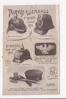 CPA MILITARIA Trophées Allemands - Guerre 1914-18