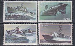 Afrique Du Sud N° 502 / 05 XX  : Base Navale De Simonstown, Les 4 Valeurs Sans Charnière, TB - Afrique Du Sud (1961-...)