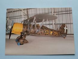 FIAT C. R. 42 FALCO, MM5701 ( P204 - After The BATTLE ) Anno 19?? ( See / Voir Photo ) ! - Matériel