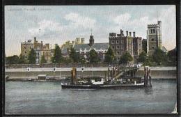 REPRODUCTION ANGLETERRE - London, Lambeth Palace - River Thames