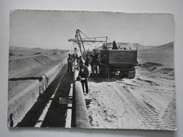 Cachet Gendarmerie Nationale, Brigade D'Hassi R'..el (R'Mel ?) Sur Carte S.N. Repal, Août 1959. Voir Description (A8p20) - Marcophilie (Lettres)