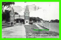 SAINT-HYACINTHE, QUÉBEC - PORTE DES ANCIENS MAIRES - CIRCULÉE EN 1989 - St. Hyacinthe