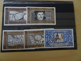 5 Notgeldscheine Schweinitz (10126) - Lokale Ausgaben