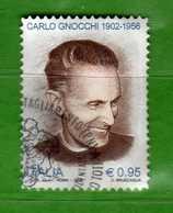 Italia ° - 2016 - CARLO GNOCCHI.   USATO, Vedi Descrizione. - 2011-...: Usati
