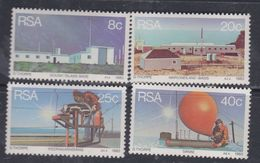 Afrique Du Sud N° 531 / 34 XX  : Stations Météorologiques Sud-africaines, Les 4 Valeurs Sans Charnière, TB - Afrique Du Sud (1961-...)
