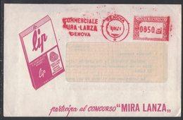 AP29   Italia,Italy Red Meter / Freistempel / Ema 1974 Commerciale Mira Lanza Genova - Affrancature Meccaniche Rosse (EMA)