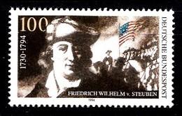 Allemagne 1994  Mi.:nr.1766 Todestag Von Friedrich Wilhelm Von Steuben  Neuf Sans Charniere / Mnh / Postfris - Neufs