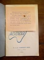 Oud Boek 40 RECEPTEN  VOOR  PASTEIGEBAK  Rond 1935 REMY   WYGMAEL - Recettes (cuisine)