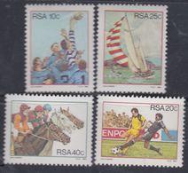 Afrique Du Sud N° 539 / 42 XX  : Sports, Les 4 Valeurs Sans Charnière, TB - Afrique Du Sud (1961-...)