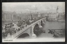 CPA ANGLETERRE - London, London Bridge - River Thames