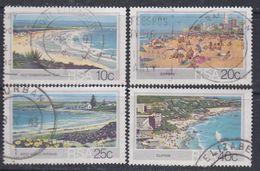 Afrique Du Sud N° 543 / 46 O  : Tourisme Les 4 Valeurs Assez Belles Oblitérations, TB - Afrique Du Sud (1961-...)