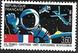 France - 1989 Yt 2571 Vol Franco Sovietique - Frankrijk