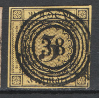 Germania Baden 1851 Unif.2 O/used VF/F - Baden