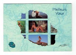 CP LA REUNION Femmes Nues - La Réunion