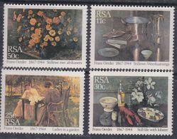 Afrique Du Sud N° 579 / 82 XX  : Hommage à F. D. Oerder, Les 4 Valeurs Sans Charnière, TB - Afrique Du Sud (1961-...)