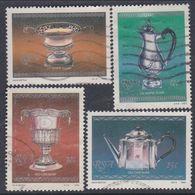 Afrique Du Sud N° 592 / 95 O  : Héritage Artistique Et Culturel, Les 4 Valeurs Oblitérations Moyennes Sinon TB - Afrique Du Sud (1961-...)