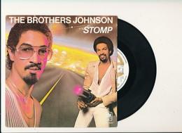 "THE BROTHERS JOHNSON "" STOMP "" Disque AM 1980   TRES BON ETAT - Rock"