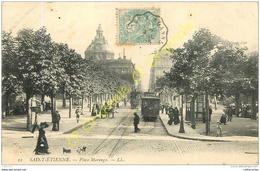 42. SAINT ETIENNE .  Place Marengo . - Saint Etienne