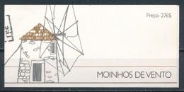 °°° PORTUGAL - BOOKLET MOINHOS DE VENTO 1989 °°° - Libretti