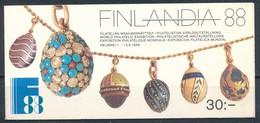 °°° FINLAND - BOOKLET AGATHON FABERGE 1988 °°° - Finlandia