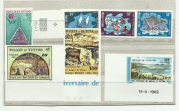 Wallis, Lot De Timbres Poste Et P.A. ** Non Dentelés, Cote YT 510€ - Collections, Lots & Séries