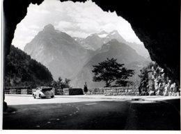 Photo Suisse Massif De Lucerne, Alpes, Format 18/24 Tirage Années 50. - Plaatsen