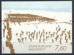 °°° FINLAND - BOOKLET JOUKKOLIIKUNTA MASSIDROTT 1989 °°° - Finlandia