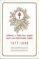 1963 - COB 1272 à 1277 Sur Feuillet Souvenir RUBENS  ATTENTION POUR ENVOI: FORMAT > NORMAL - Belgique