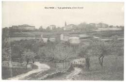Cpa Ardèche - Salymes - Vue Générale ( Côté Nord ) - Francia
