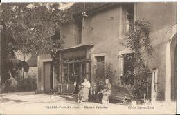CPA - Villers Farlay -Maison Pelletier - Devanture - Thème Commerce - Animée - Villers Farlay