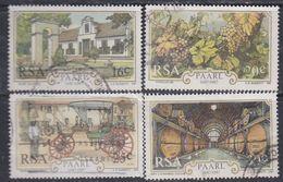 Afrique Du Sud N° 627 / 30  O  : Tricentenaire De La Ville De Paarl. Les 4 Valeurs Oblitérations Moyennes Sinon TB - Afrique Du Sud (1961-...)