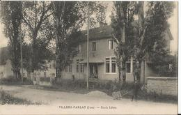 CPA - Villers Farlay - Ecole Libre - Villers Farlay